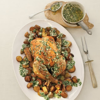 Lemon, Parsley, and Parmesan Plus Chicken and Potatoes.