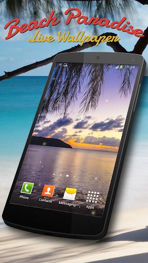 免費個人化App|海灘天堂動態壁紙|阿達玩APP