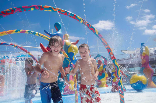 Liberty-of-the-Seas-H2O-Zone - Kids will love Liberty of the Seas' H2O Zone, the perfect place for them to splash and soak up some fun.