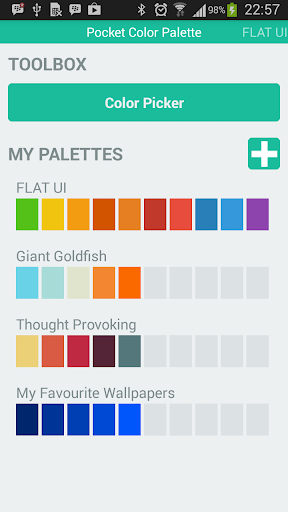 Wallpaper Color Palettes
