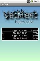 Screenshot of VetMest