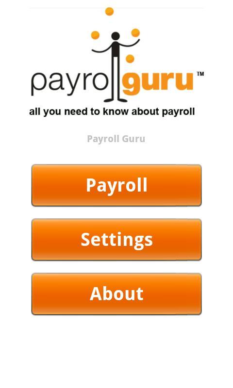 Payroll Guru- screenshot
