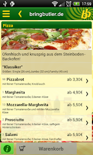 Bringbutler - Pizza, Pasta, ..- screenshot thumbnail