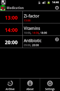 Medication screenshot for Android