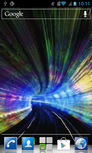 Motley Tunnel Live Wallpaper