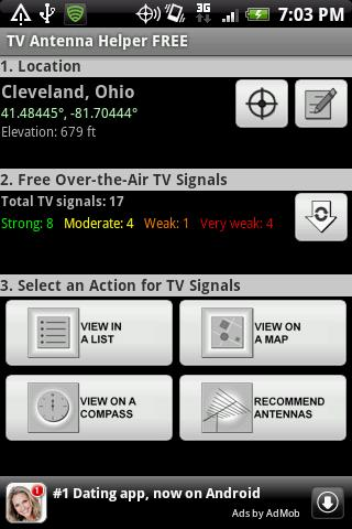TV Antenna Helper FREE- screenshot