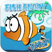 Fish Paint Angry Hungry