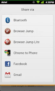 Browser Swap Lite- screenshot thumbnail
