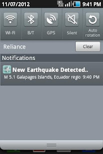 quake detector apk
