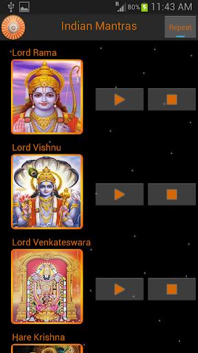 Mantras of Indian Gods 1.1 screenshots 2