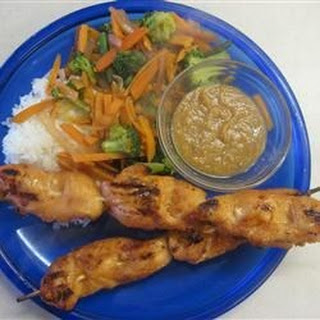 Sweet and Spicy Chicken Satay