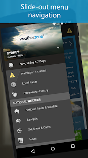 Weatherzone - screenshot thumbnail