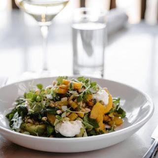 Farro Salad With Basil and Mint Pesto.