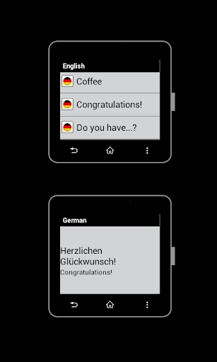 German for SmartWatch 2