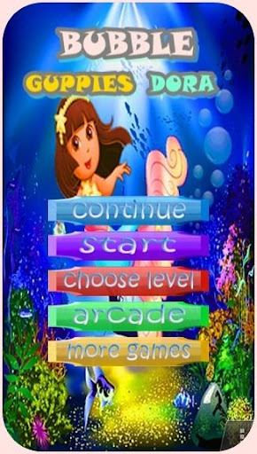 Bubble Guppies Dora
