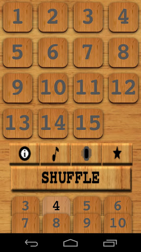 Number Puzzle Slider Game