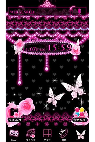 u8776u306eu5c0fu60aau9b54u58c1u7d19 Pinku00d7Black Butterfly 1.0 Windows u7528 1