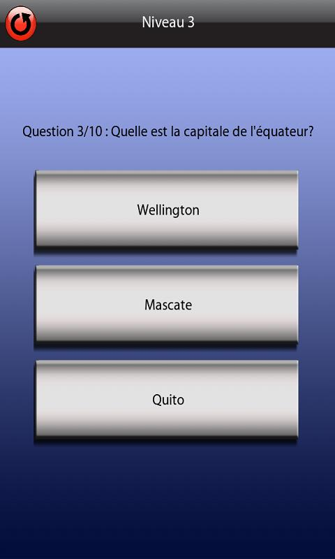 QUIZ Capitales - screenshot