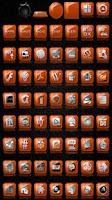 Screenshot of Slick Launcher Theme Orange
