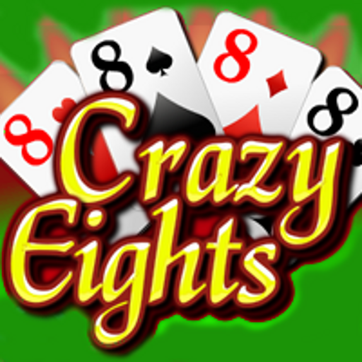 Crazy Eights (8s) FREE LOGO-APP點子