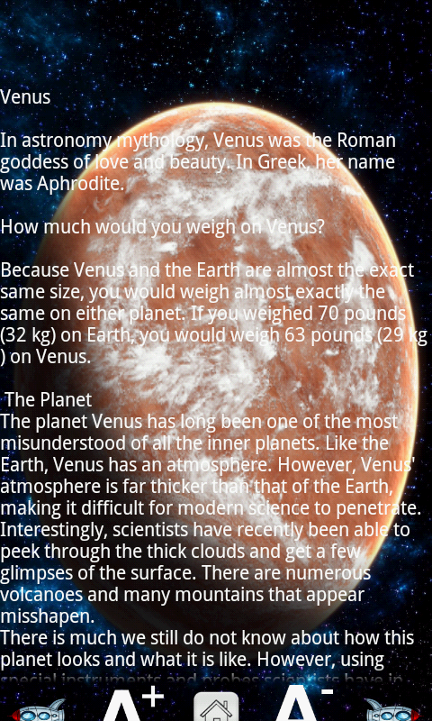 Learn Solar System- screenshot