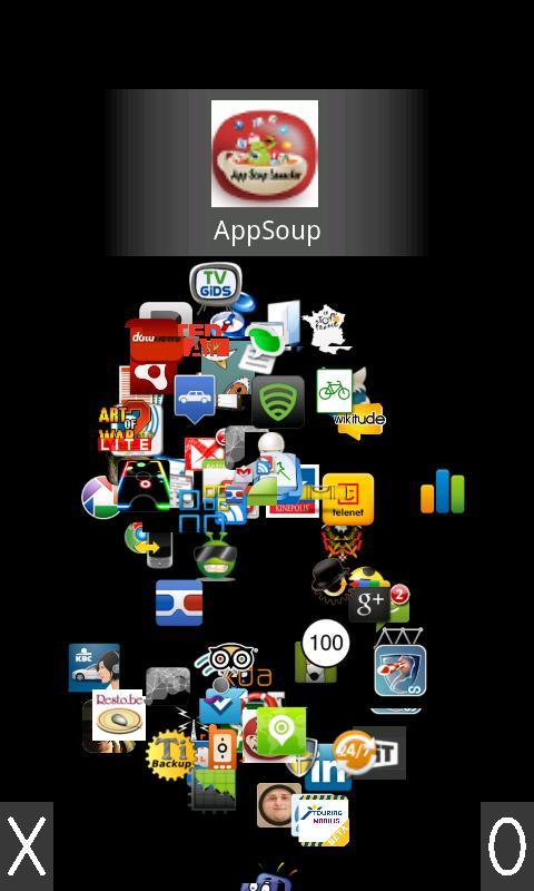 AppSoup Launcher - screenshot
