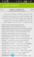 Screenshot of Hadith of Four Imam