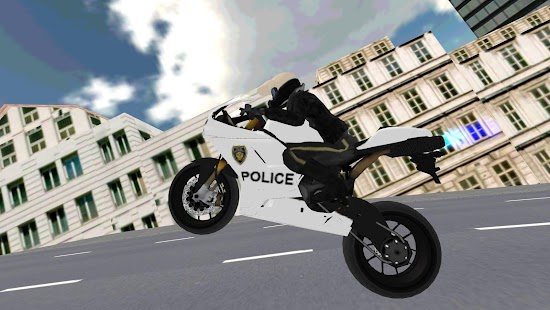 Police Motorbike Simulator 3D Screenshot