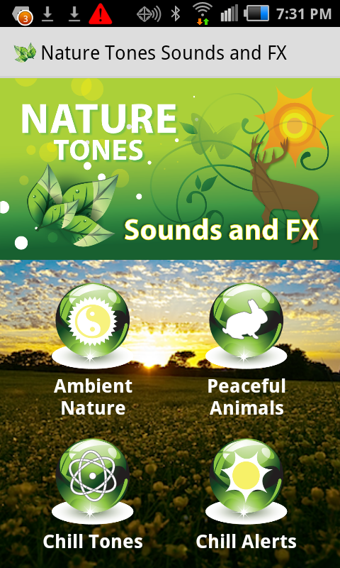 Epic Nature Tones Sounds & FX - screenshot