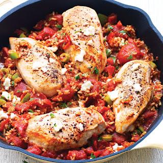 Skillet Spanish Chicken & Rice.