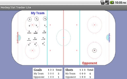 Hockey Stat Tracker Lite - screenshot thumbnail