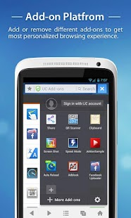 UC Browser for Android - screenshot thumbnail