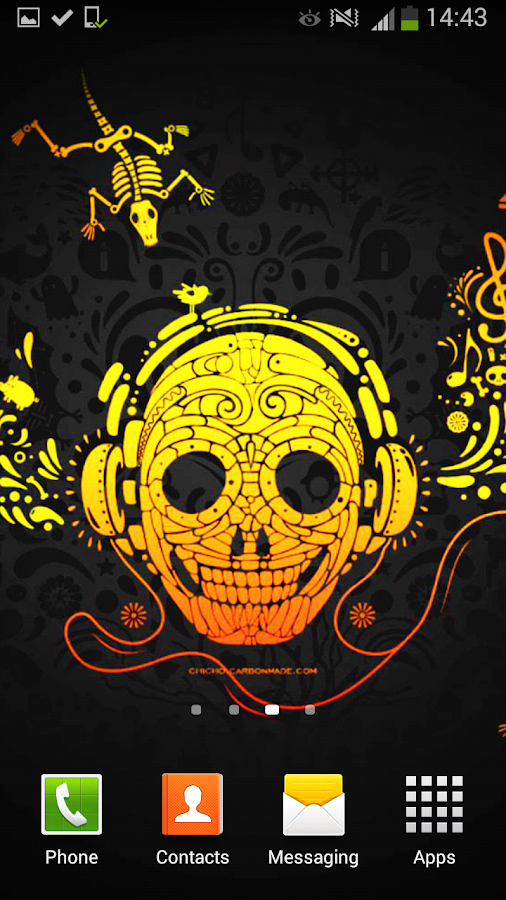 cool rock skull live wallpaper - photo #5