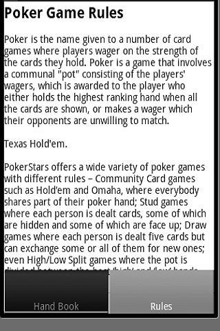 玩紙牌App|撲克手部書 - 規則免費|APP試玩