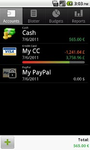 Financisto - Expense Manager Screenshot