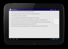Screenshot of Random Questions