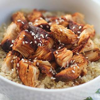 Slow Cooker Honey Chicken W/ Quinoa.