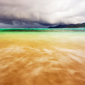 Sea colors by Ahmed Wahdan - Landscapes Beaches (  )