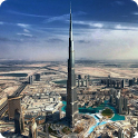 Burj Khalifa Live Wallpaper icon