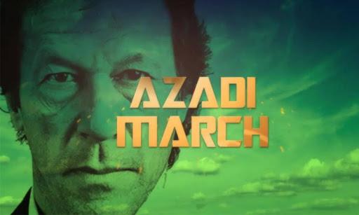 Azadi March Imran Khan