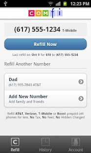 Comfi Cell Prepaid Refill - screenshot thumbnail