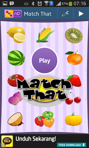 Match That Memory Game
