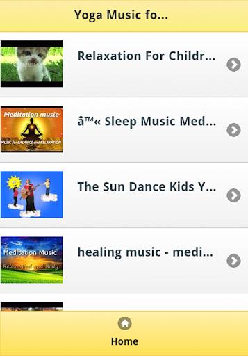 Yoga Music for Kids