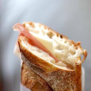 Prosciutto and Cheese Sandwiches
