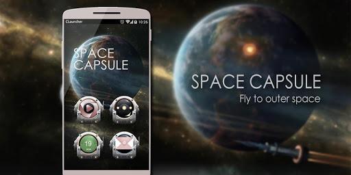 '太空舱'手机主题——畅游桌面