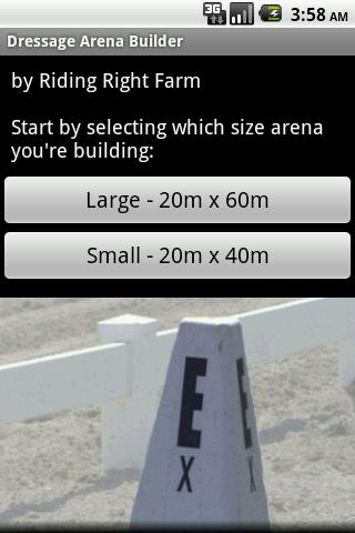 Dressage Arena Builder - screenshot