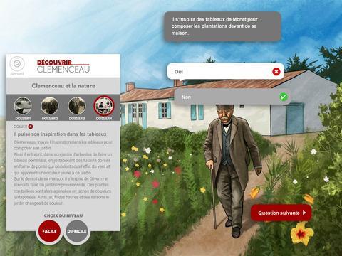 Du00e9couvrir Clemenceau, Le Quiz 1.0 screenshots 3