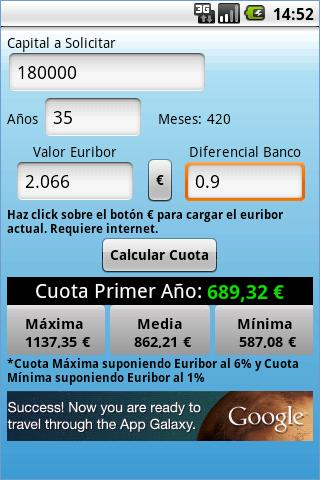 TWR Mortgage Calculator - screenshot