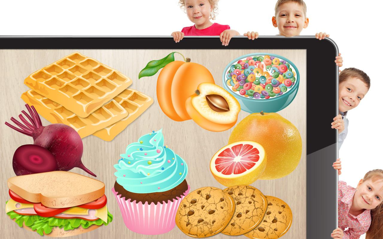 food puzzle for kids android apps on google play. Black Bedroom Furniture Sets. Home Design Ideas
