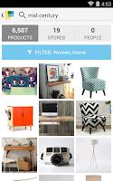 Screenshot of Wanelo Shopping